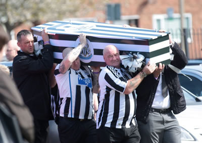 newcastle funeral